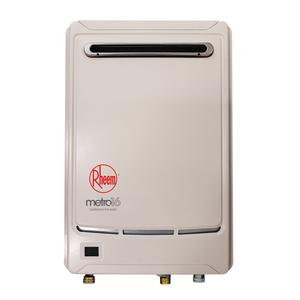 Rheem Metro 16L Gas Continuous Flow Water Heater : 50°C